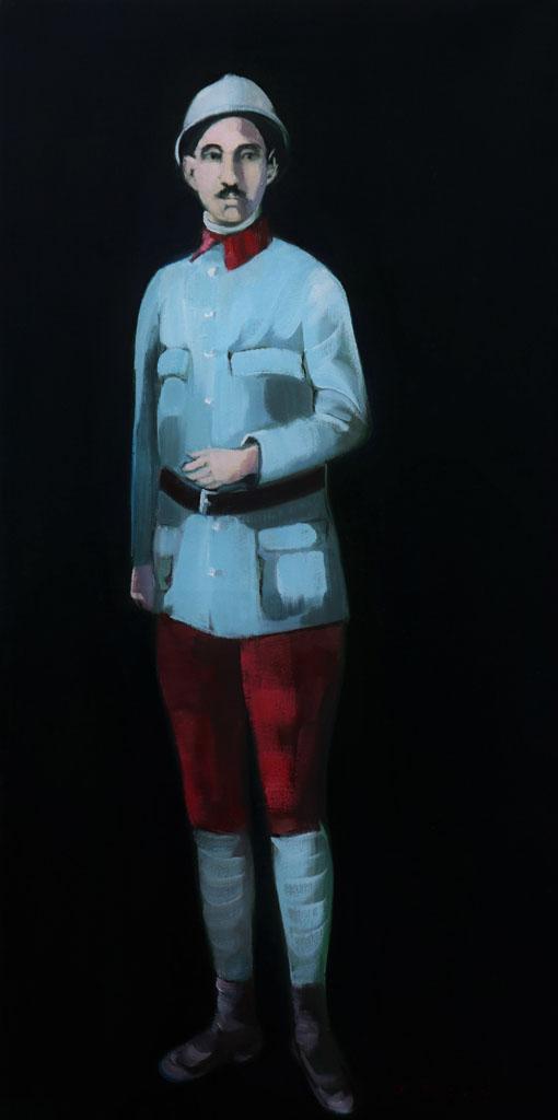 Pantalon Garance, Martine Pinsolle (artiste peintre Aquitaine)