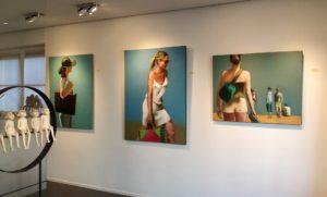 Exposition personnelle à Yes Art Gallery, Belgique