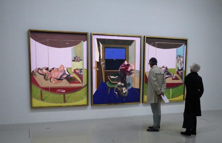 Visite de l'exposition Francis Bacon au Centre Pompidou de Paris