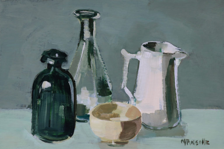 Nature morte Martine Pinsolle