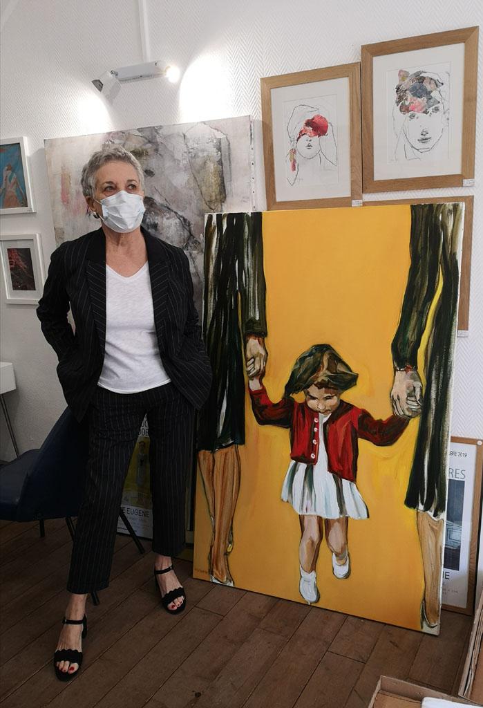Martine Pinsolle-Expo-Galerie Eugène-Laval