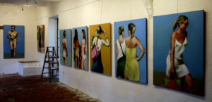 Galerie l'Ane Bleu, Marciac (Gers)