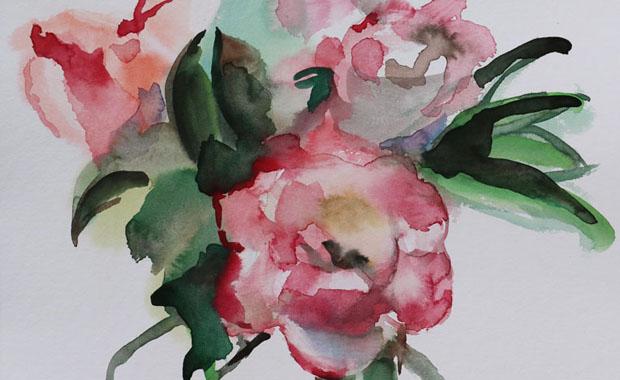 Expérimentation d'un nouveau medium : fleurs