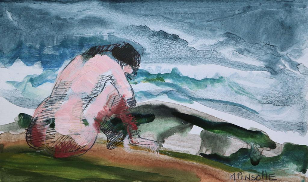 5308, papiers, Peinture Martine Pinsolle