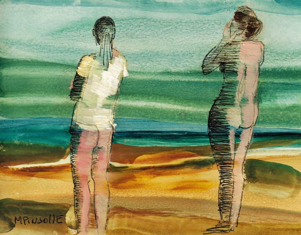 5330, papiers, Peinture Martine Pinsolle