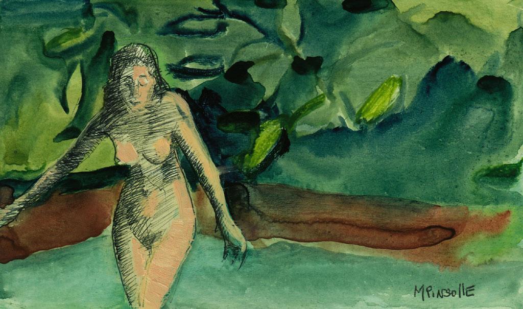 5395, papiers, Peinture Martine Pinsolle