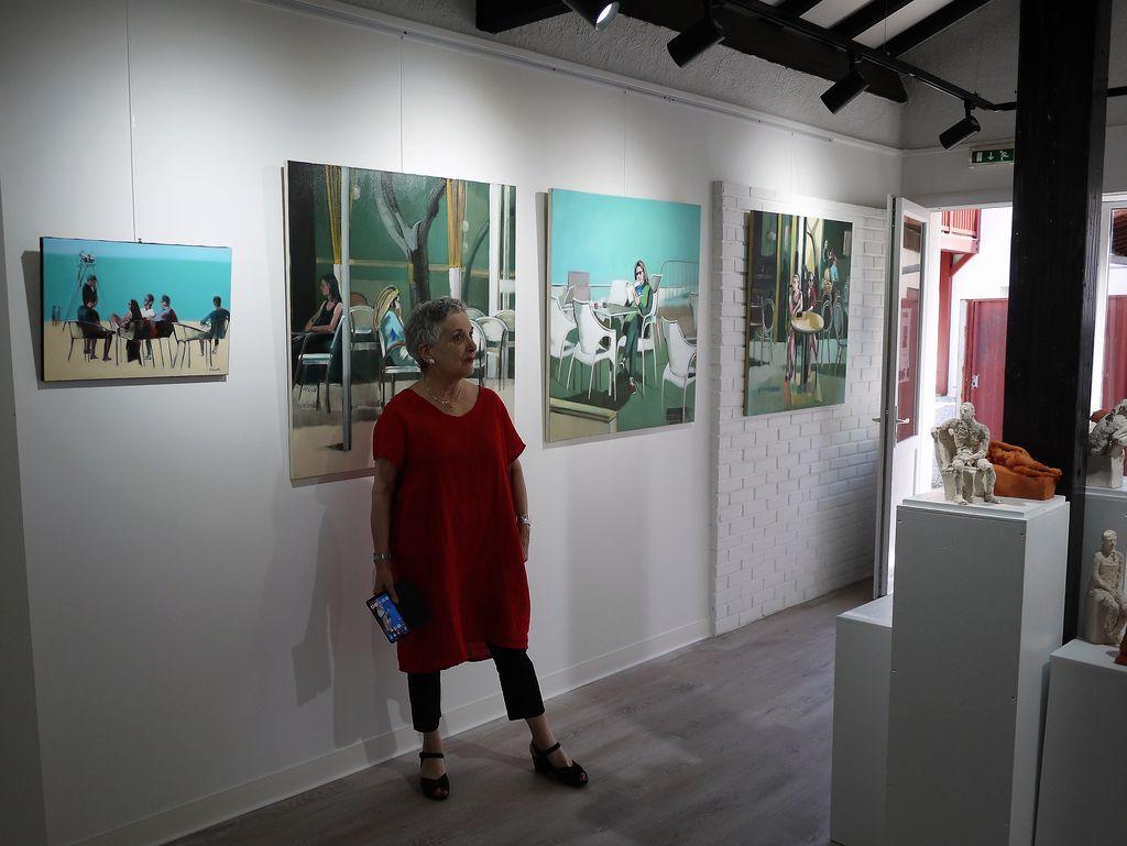 Exposition, Vieux-Boucau, Martine Pinsolle